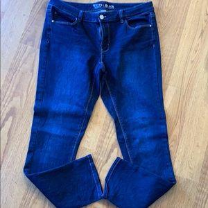 White House Black Market skinny jeans.